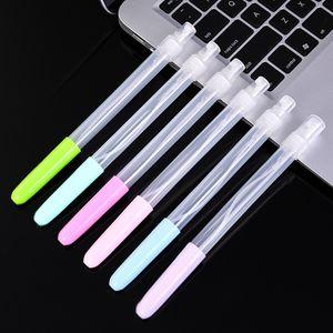 7 ml Sprey Kalem Boş El Dezenfektanı Meme Plastik Macaroon Renk Öğrenci Taşınabilir Kalemler Kullanımlık Moda Yeni Şişe 0 75XC G2