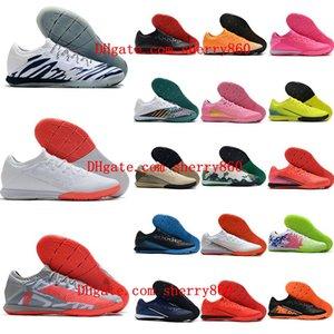 2020 мужские футбольные Mercurial Superfly утки 13 Pro IC бутсы закрытый футбол обувь CR7 Неймар Рональдо Botas де калсио высшего качества