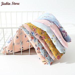 Vendita calda Stampata Floral Chiffon Sciarpa Hijab Lightweight Long Scialle Donne Sciarpe musulmane Popular Turban Wrap 70 * 180 cm