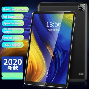 Tablet PC 2021 10.1 Inch Ten Core 6G +128G Android 9.0 WiFi Tablets Dual SIM Camera Belakang Bluetooth 4G Tablets1