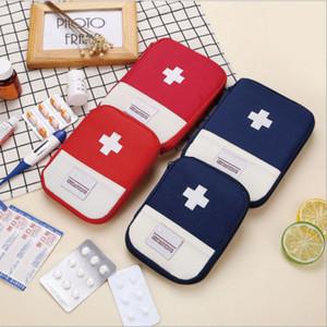 Bolso portable al aire libre de primeros auxilios, bolsa de viaje, equipo médico, equipo de primeros auxilios, una pequeña bolsa de almacenaje del organizador médica