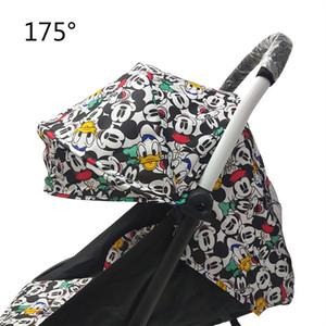 Bebek Yoya Babyzen Yoyo Koltuk Gömlekleri Güneş Gölge Kapak Hood Bebek Zaman Pram Yastık Pad Mattress 201021 175 Derece Arabası Aksesuarları