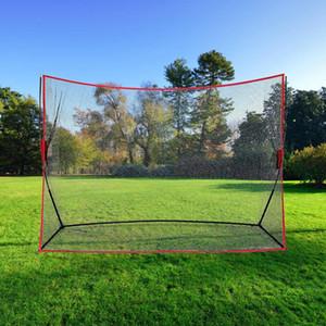 Indoor Outdoor Golf Practice Net Golf Hitting Cage Garden Grassland Practice Tent Golf Training Equipment 10 x 7 x 3ft