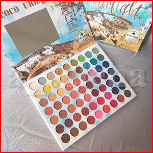 COCOURBAN Eye Makeup Water light Matte Eyeshadow Palette Preseed Powder Pigment 63 Colors Eye Shadow Palette