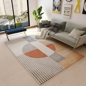 Nordic Simple Carpet Living Room Sofa Coffee Table Blanket Bedside Bed Mat Floor Bedroom Slip Rug Kids Playing Print Mat