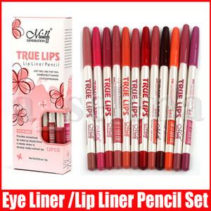 Макияж Menow 12 цветов Sexy Подводка для губ Стик Многофункциональный Lipliner Lip Liner Pencil Матовый Nude Lipsliner Pen Set красоты Инструмент Косметика