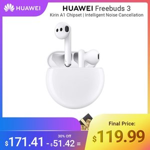 HUAWEI Freebuds 3 Wireless Auricolari TWS Noise Reduction ANC di carico senza fili Bluetooth 5.1 Kirin A1 chipset Grande Baterry