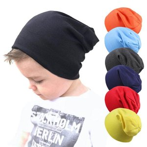 free deliveryNew Baby Street Dance Hip Hop Hat Spring Autumn Baby Hat Scarf for Boys Girls Knitted Cap Winter Warm Solid Color