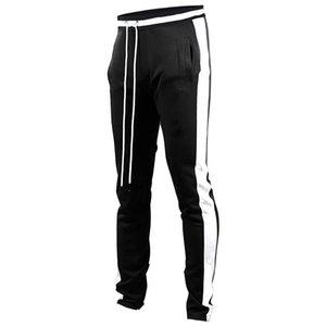 Men's new casual jogging pants fashion fitness sweatpants sports tights