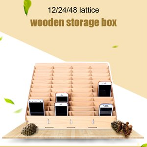 Multifunctional Wooden Mobile Phone Repair Tool Motherboard Accessories Storage Box