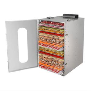 110V / 220V 20 Camada elétrica Meat Fruit Vegetable Dehydrator Secador Jerky desidratador máquina de secagem Forno Dehumidifier