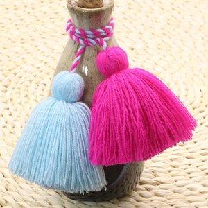 4pcs Charm Fat Tassel Fringe Pendentif Corde DIY Home Rideau Textile Artisanat Accessoires suspendus Tassels Multicolor Frange Trim H Jlleed
