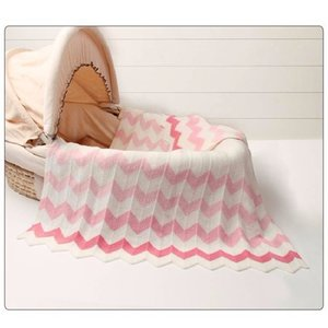 Baby Blankets Knitted Woolen Newborn Super Soft Wrap Infant Swaddle Warm Kid Inbakeren Monthly Toddler Bedding Bedding Cover 201022
