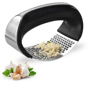 الثوم المطابع المطحنة القشارة القطاعة المروحية متعددة الوظائف أدوات المطبخ الفولاذ المقاوم للصدأ الصحافة الثوم مطبخ طبخ أداة C1111