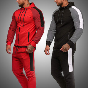 Men Clothes Set New Hoodie and Pants Joggers Outfits Spring Autumn Tracksuit Set Mens Sports Wear Gym Clothing Sweat Suit 201130