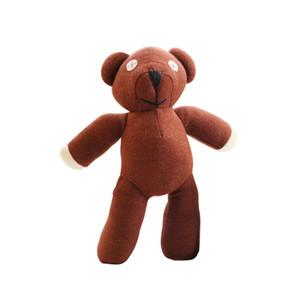 1pc 25cm Mr Bean Teddy Bear Animal En Peluche Peluche Toy jouet Soux Dessin animé Figure Poupée Enfant enfants cadeau Jouets Jouets Anniversaire cadeau d'anniversaire