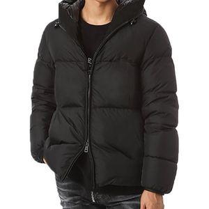 Erkekler Kış Ceket Aşağı Parkas Yüksek Kalite Ceket Aşağı Ceket Yuvarlak Boyun Kış Coat Erkekler Ve Kadınlar Rüzgarlık Hoodie Ceket Sıcak Giyim