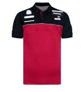 F1 Team Series Kurzarm Polohemd Revers T-Shirt Rennsport Anzug Fan Edition Team Uniform Individualisierte Schnelltrocknung Poloanzug
