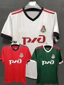 2020 2021 Russie Lokomotiv Moscou Football Jerseys 20 21 Kamano Smolov Barinov Krychowiak Miranchuk maison loin 3 S-Maillot de foot 4XL