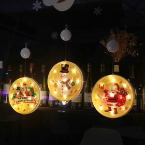 Noël quarantaine Ornements Led Bonhomme de neige bricolage Salutation pendentif personnalisé Led Lumière d'arbre de Noël fêtes de Noël Décoration