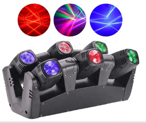 2pcs Professional dj wedding club dmx Moving head focus beam led 6x10W RGBW 4-in-1 moving head beam LED spider light