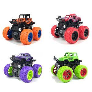 Mini Veículo off-rodoviário inercial Retrocesso crianças brinquedo carro de fricção de fricção de carro jugluetes carro crianças brinquedos para meninos