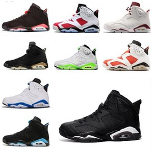 6 6s Infrared Reflective 1s 4s 11s 12s Basketball shoes men Angry bull White Athletic Desinger Sneakers 7-12