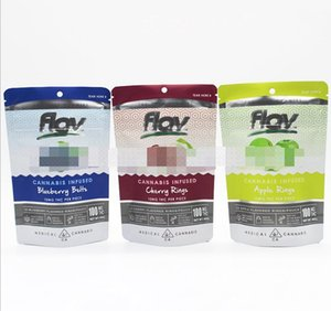 New 11 types Flav Sour Gummies Bag Packaging Strawberry Belt Peach Rings Patch packaging Gummies Smell Proof Bags Gummy Mylar