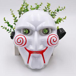 Sam Mask for Halloween Festivals or Cosplay Party Supplies Masquerade PVC Masquerade Halloween Saw Chainsaw Killer Theme Mask Super Creepy