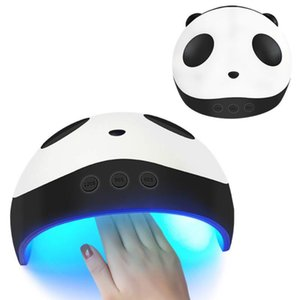 36W Pro Nail Panda Nail Dryer Compact Electric UV Lamp Polish Manicure 60s 90s 120s Smart Timing Nail Art Tool