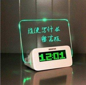 Gut wenn sie erreicht Time Alarm Ursprünglichkeit Elektronik Romantische Fluoreszenz Platte kq9D #