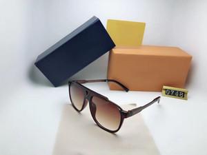 2020 novo designer de luxo mulheres moda óculos de sol 013 Óculos de sol simples estilo generoso best-seller Qualidade superior UV400 Proteção Eyewear