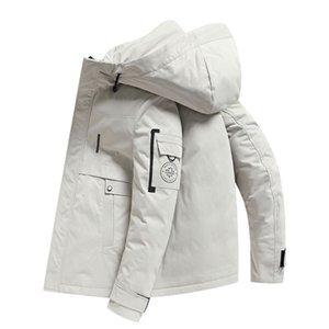 عبر الحدود الجديدة الشتاء المنتجات downjacket أسفل مصنع الاتجاه قصير الرجال سترة