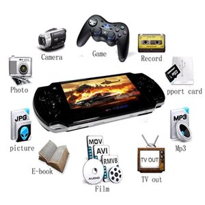 Retro High Quahandheld Game Console 4.3 inch screen mp4 player MP5 game player real 8GB support for psp game,camera,video,
