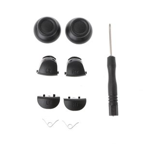 9-In-1 Analog Thumb Sticks L1 R1 L2 R2 Trigger Buttons Kit For PS4 Controller
