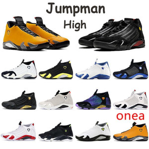 2020 New Shoes 14s Jumpman Sneakers Gym Red Candy Cane Bumblebee University Gold Supwhite Supblack Thunder High Mens Trainers