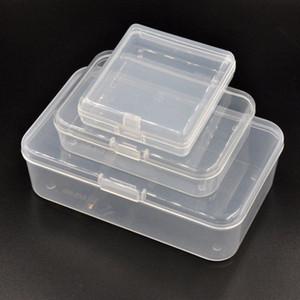 Siglo B Tipo caja de plástico con cerradura para la joyería, Reparación de piezas de herramientas, emisión de tarjetas, Cebo, tornillos, botón mGYT #