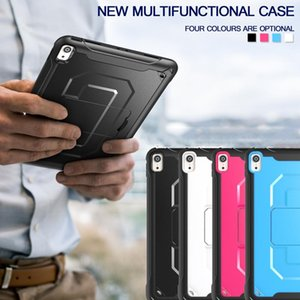 """Three-layer Shockproof Multi function Case with Shouler Strap for Ipad MINI 1 2 3 Pro 11"""" Four Colors Optional Built-in Kickstand Cover"""