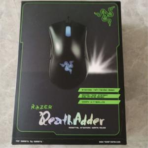 الأصلي الماسح DeathAdder كروما USB سلكية بصري ألعاب الكمبيوتر ماوس 10000dpi الاستشعار البصرية ماوس ماوس الماسح DeathAdder لعب الفئران