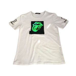 2020 Men High Quality Wholesale cotton customized led sound activated flashing EL clothing fashion dance party tshirt