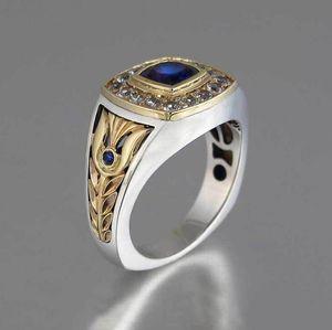 blue man mens men's ring mens diamond luxury statement ring man natural stone man s diamond size 12 ring