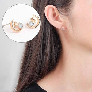 High Quality Fashion 2021 Chinese Year Of The Ox Stud Earrings For Women Party Fine Jewelry
