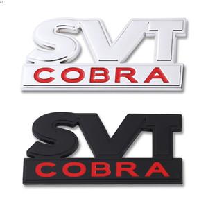 Автомобильная наклейка SVT Cobra передняя капюшона Гриль эмблема значок задний багажник 3D автомобильные наклейки для Ford Mustang Shelby SVT COBRA F150 F250 F350