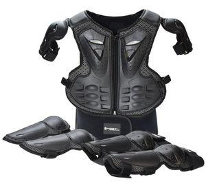 Завод прямой мотоцикл защитное снаряжение, детские доспехи костюм, верхом защитный костюм, спортивные доспехи, наколенники, налокотники