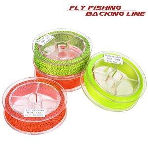 100m Fly Fishing Backing linea di galleggiamento 20LB 8 fili di nylon corda intrecciata forte linea di estensione volante Attrezzatura di pesca Accessori