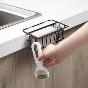 Wandmontierte Schmiedeeisen Sink Rack Pool Rag Ablassen Regal Küche Spüle Schwamm Lagergestell Halterung