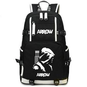 Arrow рюкзак TV Play Вентиляторы Daypack Stephen Amell Squipbag Countage Teleplay Show Ruckack Sport School School Package