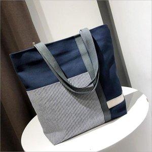 New Summer Women Canvas bohemian style strip Shoulder Beach Bag Female Casual Tote Shopping Big Bag floral Messenger Bags