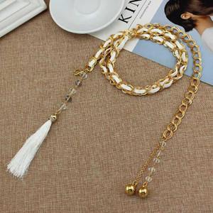 Fashion Belt Waist Chain Joker Waist Chain Woman Decoration Belt Woman Belts Dress Decration