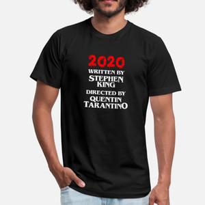 2020 Escrito por Stephen King Dirigido por Quentin T Shirt Cool Anime Custom Tracksuit Hoodie Sudadera Sudadera